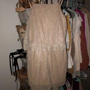 Dresses & Skirts - Shimmer Gold Romper